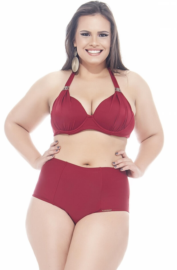 Sutiã Plus Size Base, Bojo e Metal Rubi
