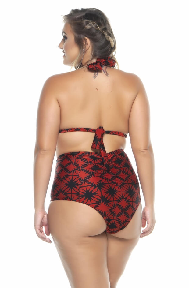 Hot pant plus size levanta bumbum telha